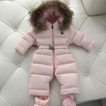Moncler Down Baby Snowsuit Photo