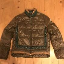 Moncler Down Jacket Brown X Black Dhl Fedex F/s Photo