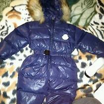 Moncler Infant Size Medium Snowsuit Photo