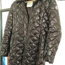 Moncler Lacquer Jacket Puffer Long Coat Size 1 Photo