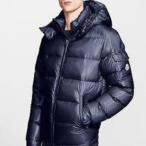 Moncler 'Maya' Lacquered Down Jacket Size 5 / Xxl Retail 1150.00 Photo