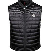 Moncler Men's Logo Patch Puffer Gilet Brand Size 1 Photo
