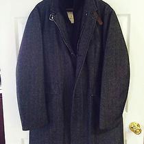 Moncler Mens Herringbone Coat Photo