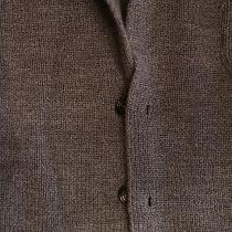 Moncler New  Wool Suede Elbow Cardigan Sweater.  Size Medium-Large. Photo