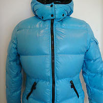 Moncler Padded Blue Jacket  Photo