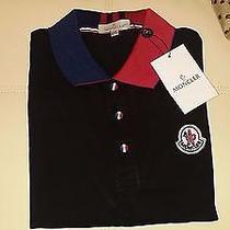 Moncler Polo Cotton Shirt Photo