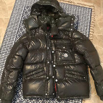 Moncler Puffer Jacket Ash Brown Great Shape 1 Small Photo
