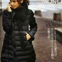 Moncler Puffer Jacket Down Size Mchamps Very Makiko Takizawa Wearing Used in Jap Photo
