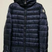 Moncler Puffer Jacket Down Size Srare Domestic Regular Nursey 1 Navy Used in Jap Photo