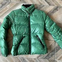 Moncler Puffer  Jacket Women Size 0 Green Photo