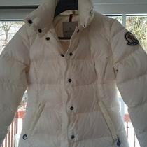Moncler Puffer Jaket White Like Brand New.. Photo