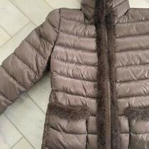 Moncler Puffer Mink Trim Jacket Size S Photo