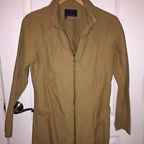Moncler Raincoat Beige Women's  Size 2 Beige New Photo
