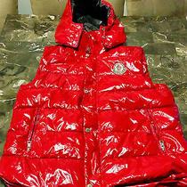 Moncler Red Vest Fit M Photo
