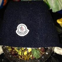 Moncler Toddler Winter Hat Blue  Photo