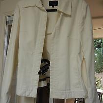 Moncler White Cotton Jacket Photo