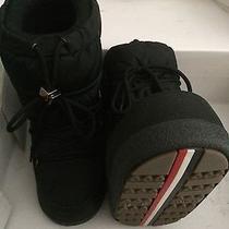 Moncler Woman Snow Boots Rare Photo