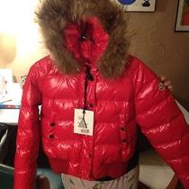Moncler Women Coat Red Photo