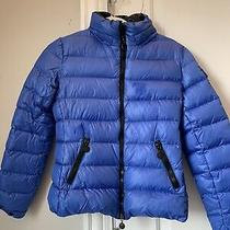 Moncler Womens Puffer Jacket Excellent Condition Blue Size 00 Photo