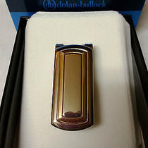 Money Clip dolan.bullock 925/14k Gold and Sterling Silver Two Tone New With Box Photo