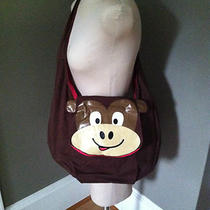 Monkey Face Large Tote Messenger Hobo Shopper Book Bag Travel Bag New Photo