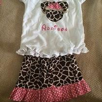 Monogrammed Addison-Disney-Size 6 Photo