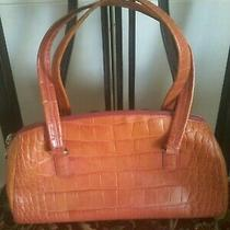 Monsac dr.style Med Size Embossed Leather Purse Excellent Condition  Photo