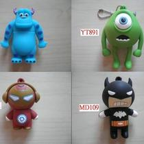 Monster Inc Iron Man Batman Cartoon Usb Flash Drive Memory 8g 16g (Batch 2) Photo