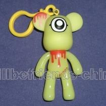 Monsters Inc Blood Bear Noctilucence Bag Charm Keychain Key Ring Pendant Photo