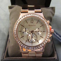 Montres Carlo Women's Rose Gold Metal Band Fashion Watch on Sale for 31.99 Photo