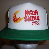 Moon Shine Liquor Beer Mesh Baseball Cap Trucker Hat Retro Rare Unique Lid F Photo