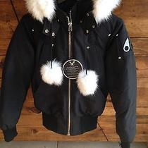 Moose Knuckles / Medium Black Debbie Bomber Jacket Photo