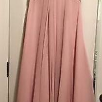 Mori Lee Blush Lace and Sheer Long Dress  Photo