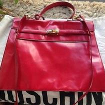 Moschino Bag Vintage Red  Photo