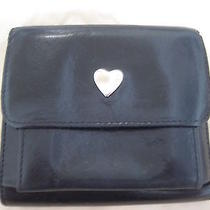 Moschino Black Leather Wallet Photo