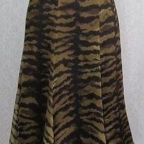 Moschino Cheap and Chic 100% Silk Skirt Us 8 Excellent Condition Photo