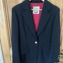 Moschino Cheap and Chic Black Blazer Size 12 Photo