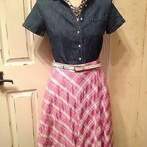 Moschino Cheap and Chic Plaid Fun Skirt Photo