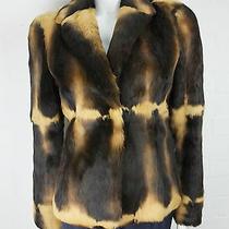 Moschino Cheap and Chic Rabbit Fur Jacket Photo