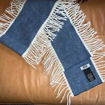 Moschino Cheap and Chic Wool Fringe Scarf Photo