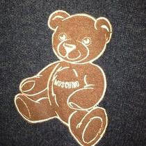 Moschino Cheap and Chic Wool Teddy Bear Sweater-Must See Photo