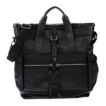 Moschino Couture Large Black Leather Tote With Messenger Strap. Mint Condition Photo