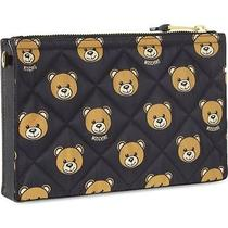 Moschino Couture X Jeremy Scott Bear Print Quilted Clutch Bag Ss15 Ready 2 Bear Photo