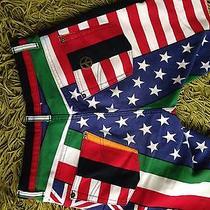 Moschino Flag Jeans Denim Rare Photo