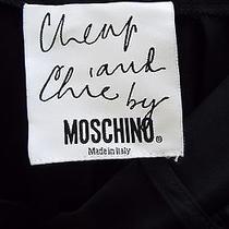 Moschino Formal Pants Woman Black Italy 10  Photo