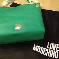 Moschino Green Tote-Nwt Photo
