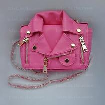 Moschino Inspired Not Branded Motorcycle Jacket Shoulder Bag Photo