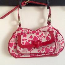 Moschino Jeans Heart Print Bag Photo