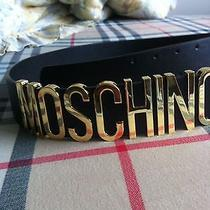 Moschino Leather Belt  Photo