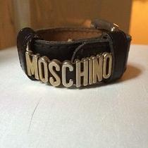 Moschino Leather Bracelet  Photo